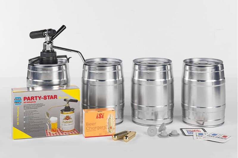 KEG starter kit 'Luxus'