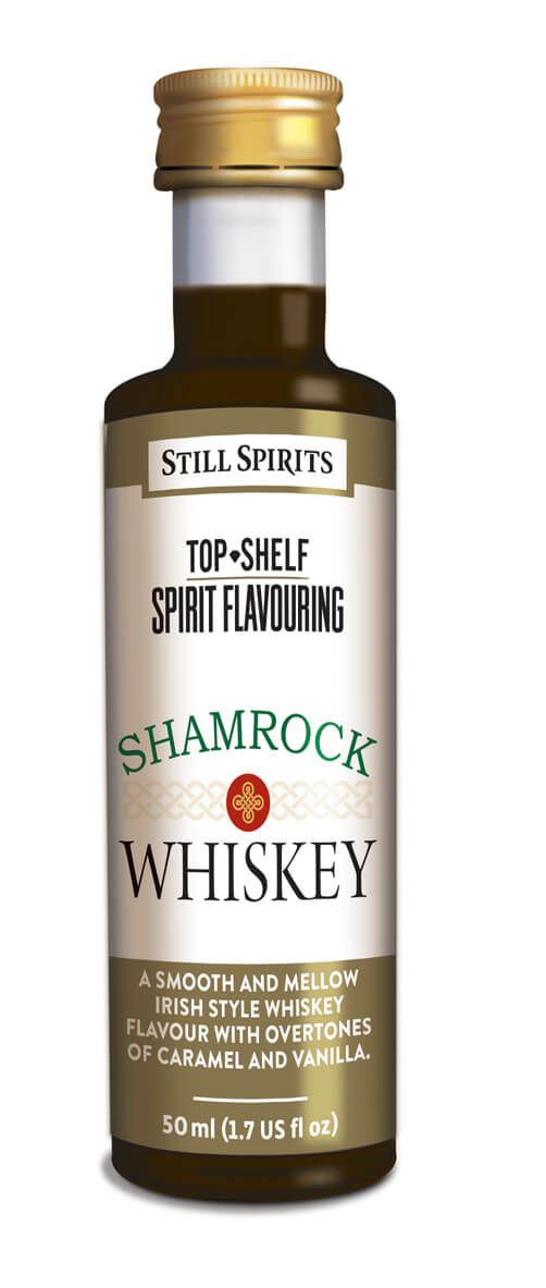 Irish Whiskey Shamrock - esence 50 ml