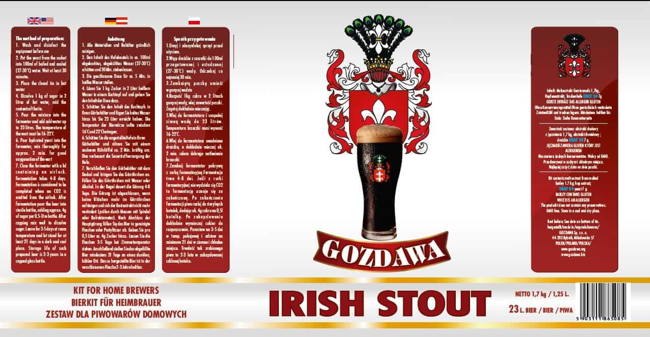 PIVO IRISH STOUT