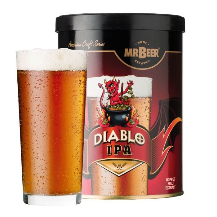 Mr Beer Diabolo IPA 1.3 Kg