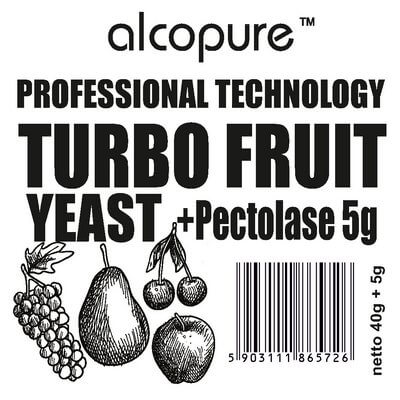 Turbo Fruit Profesional  40g + 5g pektoláza
